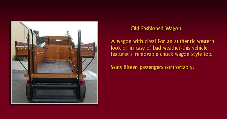 Old Fashioned Wagon:  